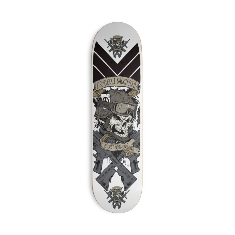 Sacrifice Accessories Deck Only Skateboard by goofyink's Artist Shop