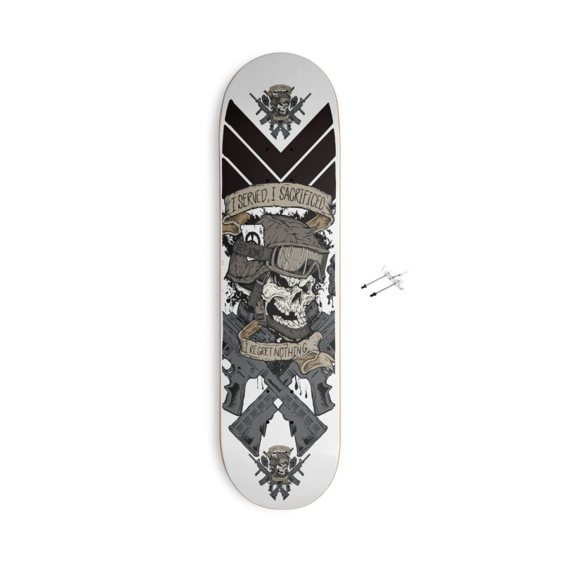 Sacrifice Accessories With Hanging Hardware Skateboard by goofyink's Artist Shop