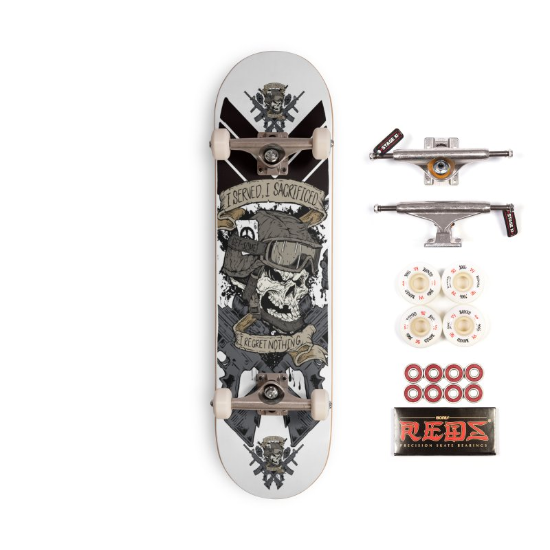 Sacrifice Accessories Complete - Pro Skateboard by goofyink's Artist Shop
