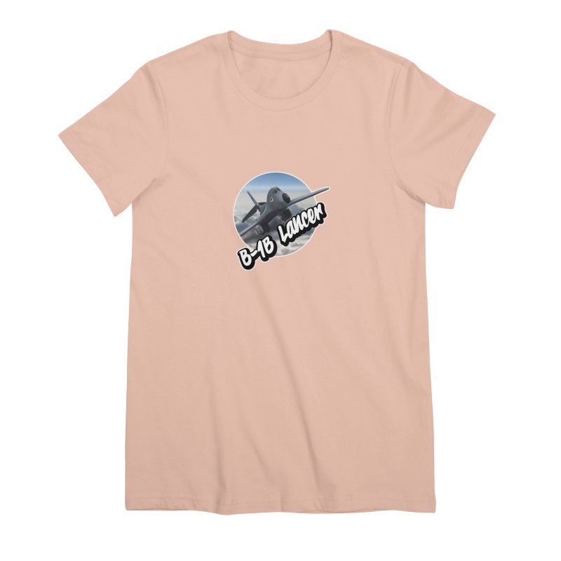B1B Lancer Women's Premium T-Shirt by goofyink's Artist Shop