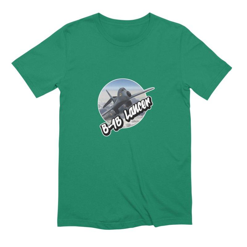 B1B Lancer Men's Extra Soft T-Shirt by goofyink's Artist Shop