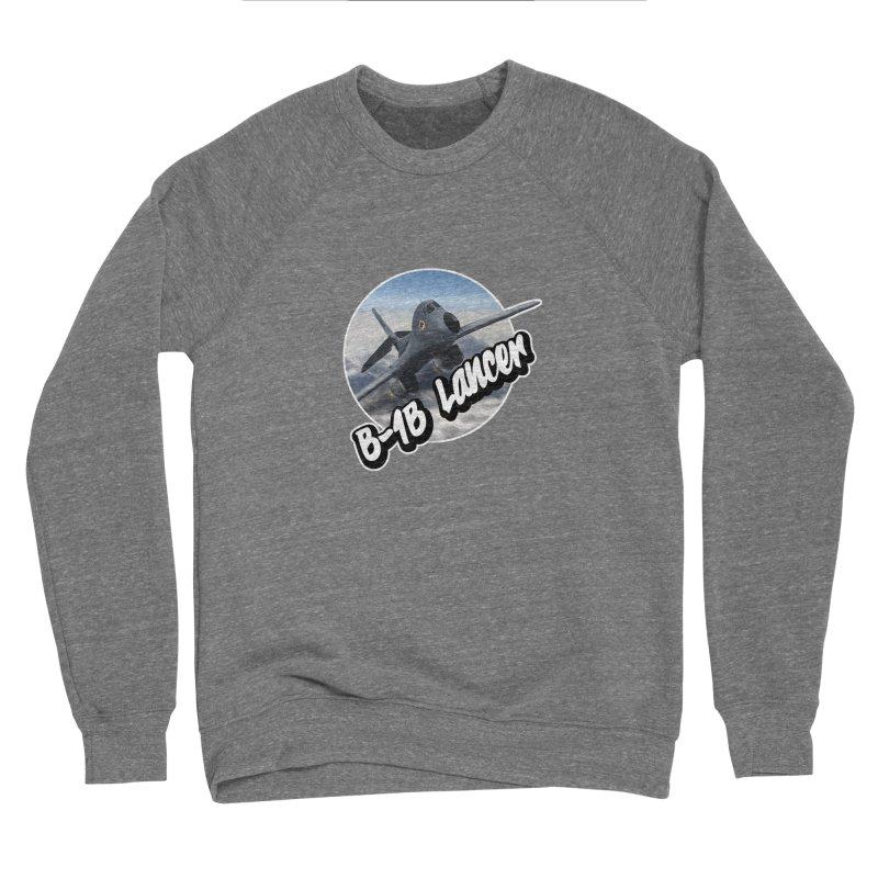 B1B Lancer Men's Sponge Fleece Sweatshirt by goofyink's Artist Shop