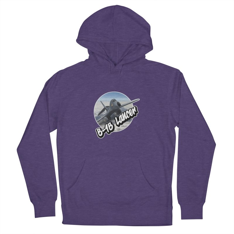 B1B Lancer Women's French Terry Pullover Hoody by goofyink's Artist Shop