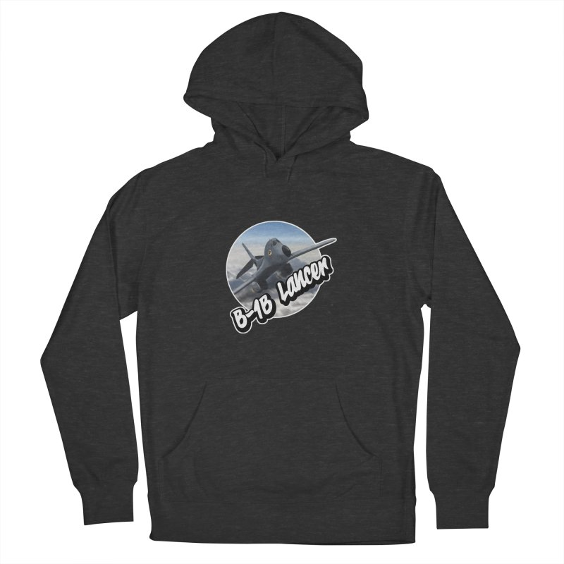B1B Lancer Men's French Terry Pullover Hoody by goofyink's Artist Shop