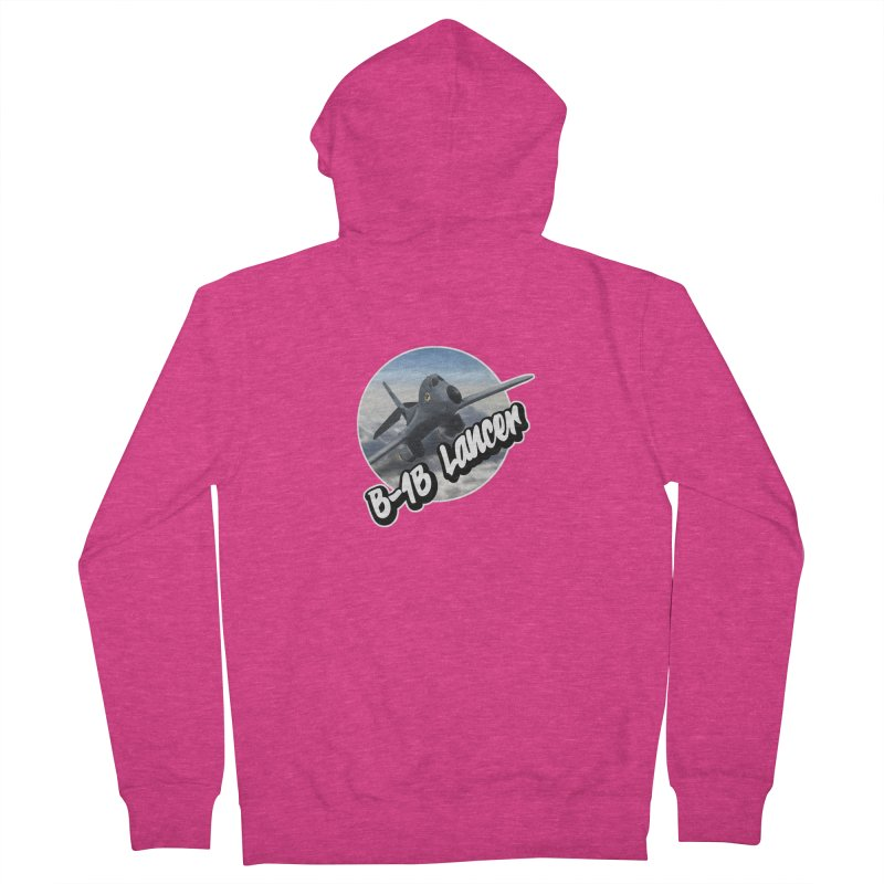 B1B Lancer Women's Zip-Up Hoody by goofyink's Artist Shop