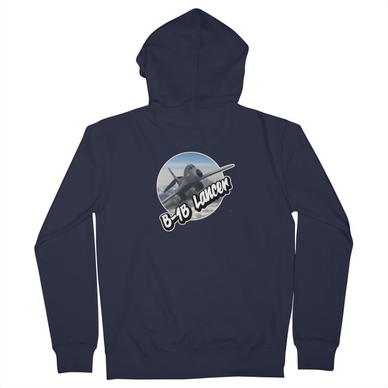 B1B Lancer Men's French Terry Zip-Up Hoody by goofyink's Artist Shop