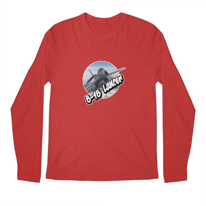 B1B Lancer Men's Regular Longsleeve T-Shirt by goofyink's Artist Shop