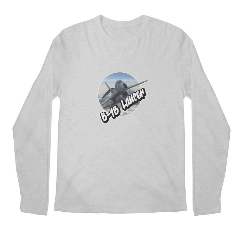 B1B Lancer Men's Longsleeve T-Shirt by goofyink's Artist Shop