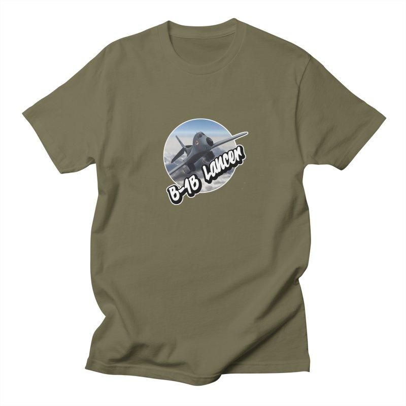 B1B Lancer Men's T-Shirt by goofyink's Artist Shop
