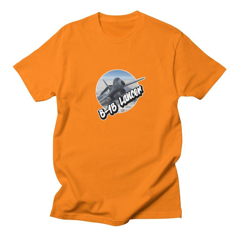 B1B Lancer Men's Regular T-Shirt by goofyink's Artist Shop