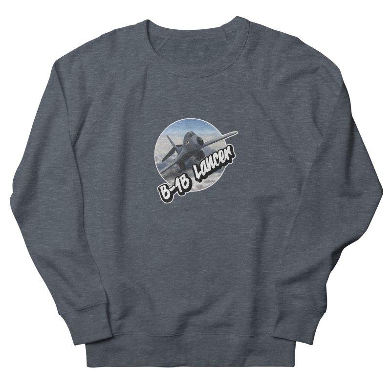 B1B Lancer Women's French Terry Sweatshirt by goofyink's Artist Shop