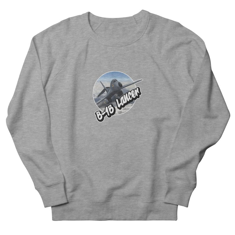B1B Lancer Women's French Terry Sweatshirt by goofyink's Artist Shop
