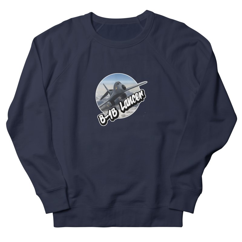 B1B Lancer Men's French Terry Sweatshirt by goofyink's Artist Shop