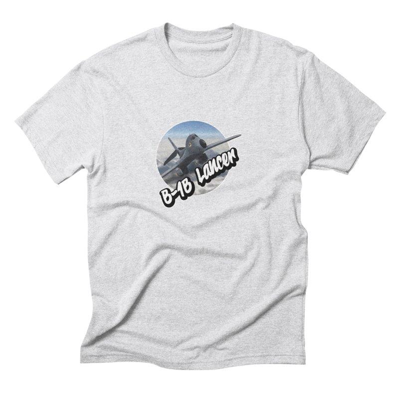 B1B Lancer Men's Triblend T-Shirt by goofyink's Artist Shop