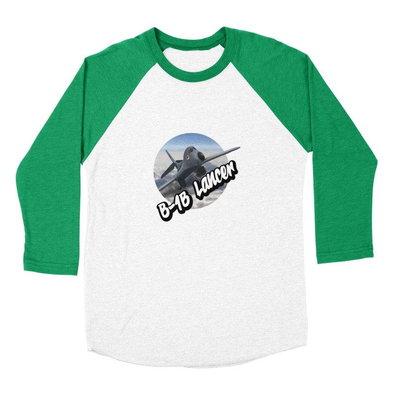 B1B Lancer Women's Baseball Triblend Longsleeve T-Shirt by goofyink's Artist Shop