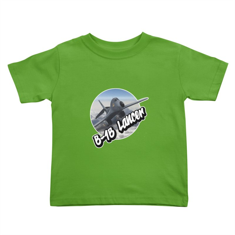 B1B Lancer Kids Toddler T-Shirt by goofyink's Artist Shop