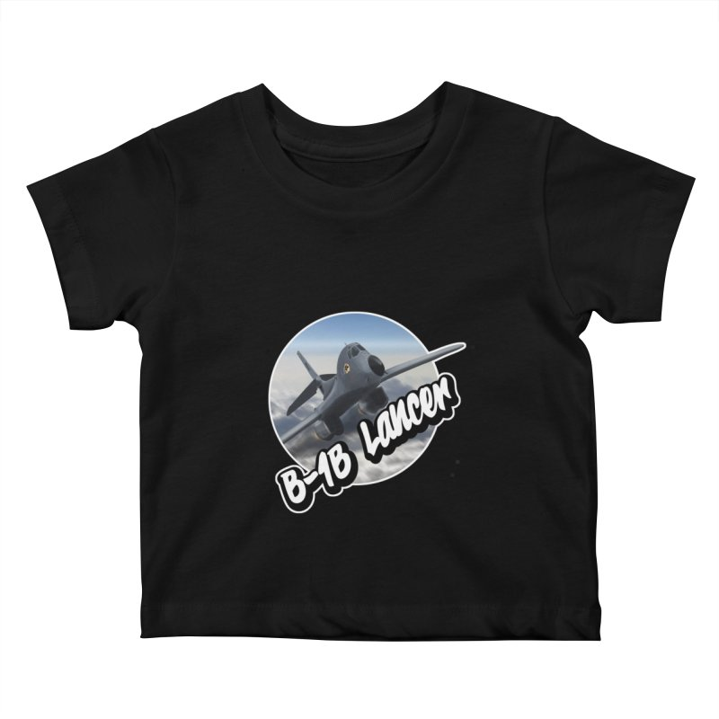 B1B Lancer Kids Baby T-Shirt by goofyink's Artist Shop