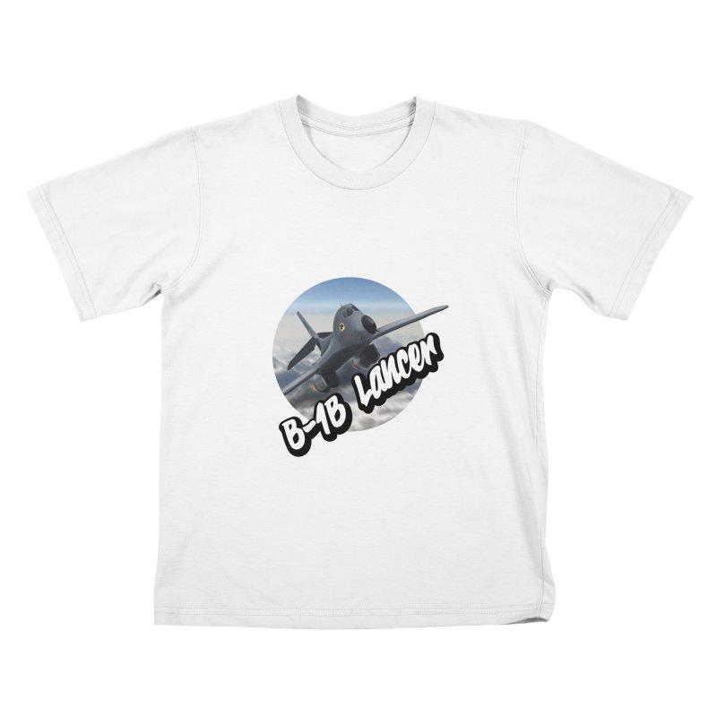 B1B Lancer Kids T-Shirt by goofyink's Artist Shop