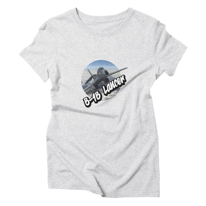 B1B Lancer Women's Triblend T-Shirt by goofyink's Artist Shop