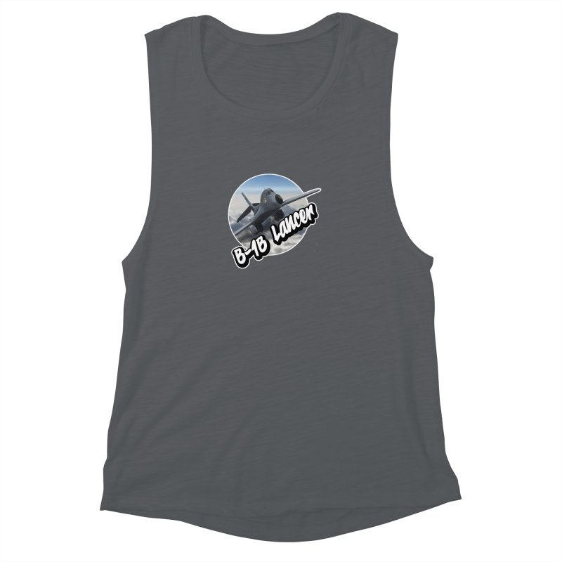 B1B Lancer Women's Muscle Tank by goofyink's Artist Shop