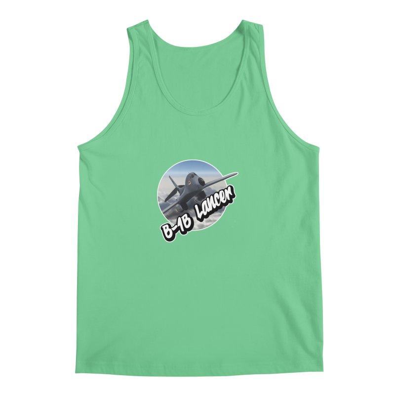 B1B Lancer Men's Regular Tank by goofyink's Artist Shop