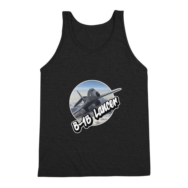 B1B Lancer Men's Triblend Tank by goofyink's Artist Shop