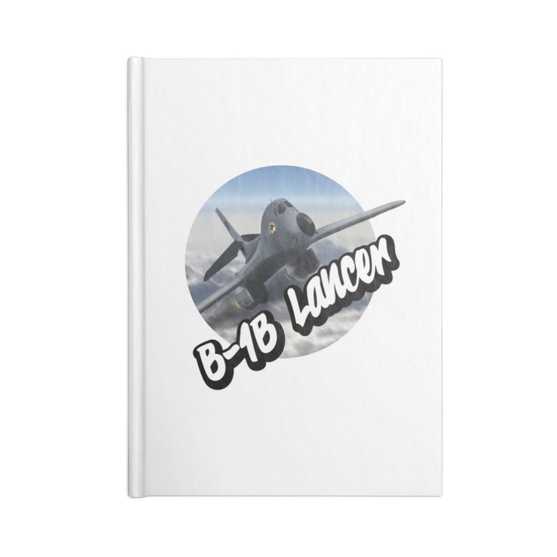 B1B Lancer Accessories Blank Journal Notebook by goofyink's Artist Shop