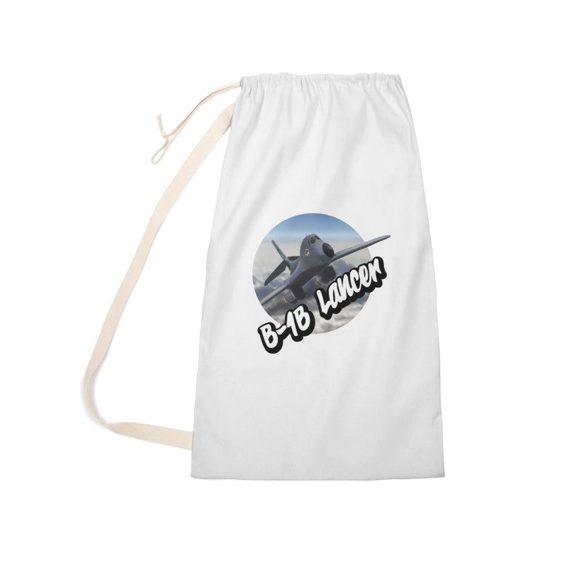 B1B Lancer Accessories Laundry Bag Bag by goofyink's Artist Shop