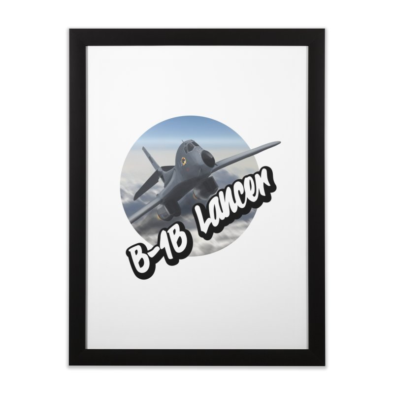 B1B Lancer Home Framed Fine Art Print by goofyink's Artist Shop