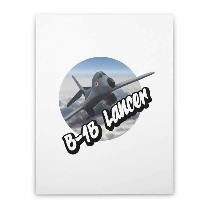B1B Lancer Home Stretched Canvas by goofyink's Artist Shop