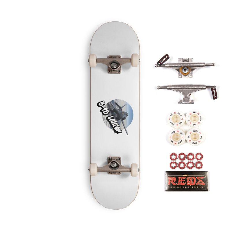 B1B Lancer Accessories Complete - Pro Skateboard by goofyink's Artist Shop