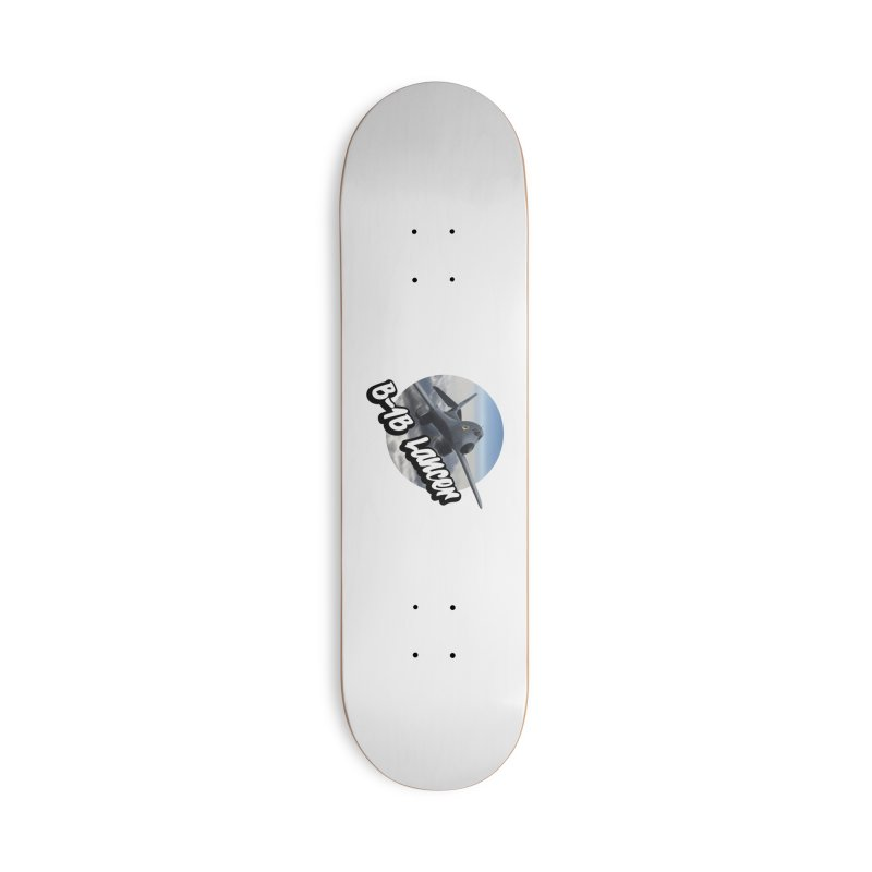 B1B Lancer Accessories Skateboard by goofyink's Artist Shop
