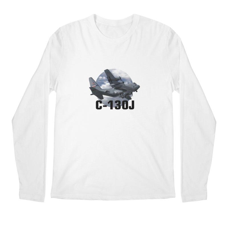 C130 Men's Regular Longsleeve T-Shirt by goofyink's Artist Shop