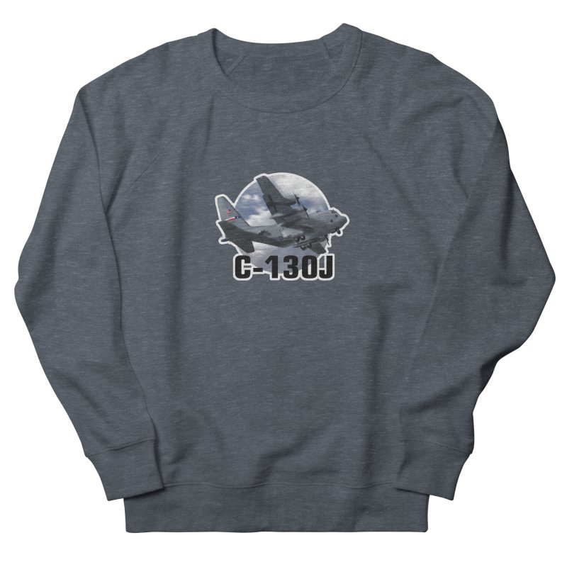 C130 Men's French Terry Sweatshirt by goofyink's Artist Shop