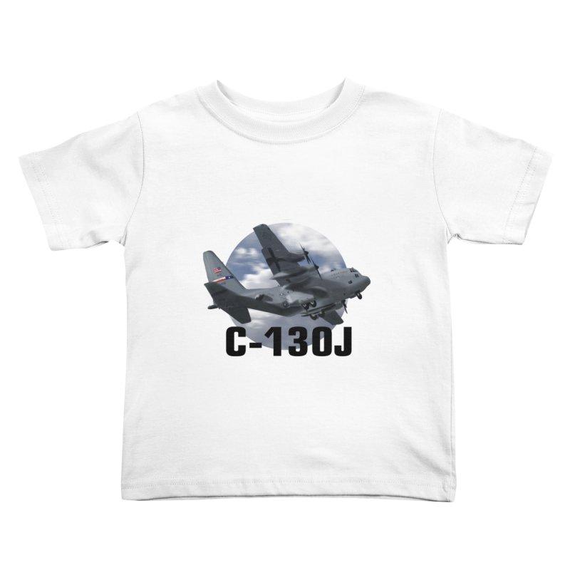C130 Kids Toddler T-Shirt by goofyink's Artist Shop