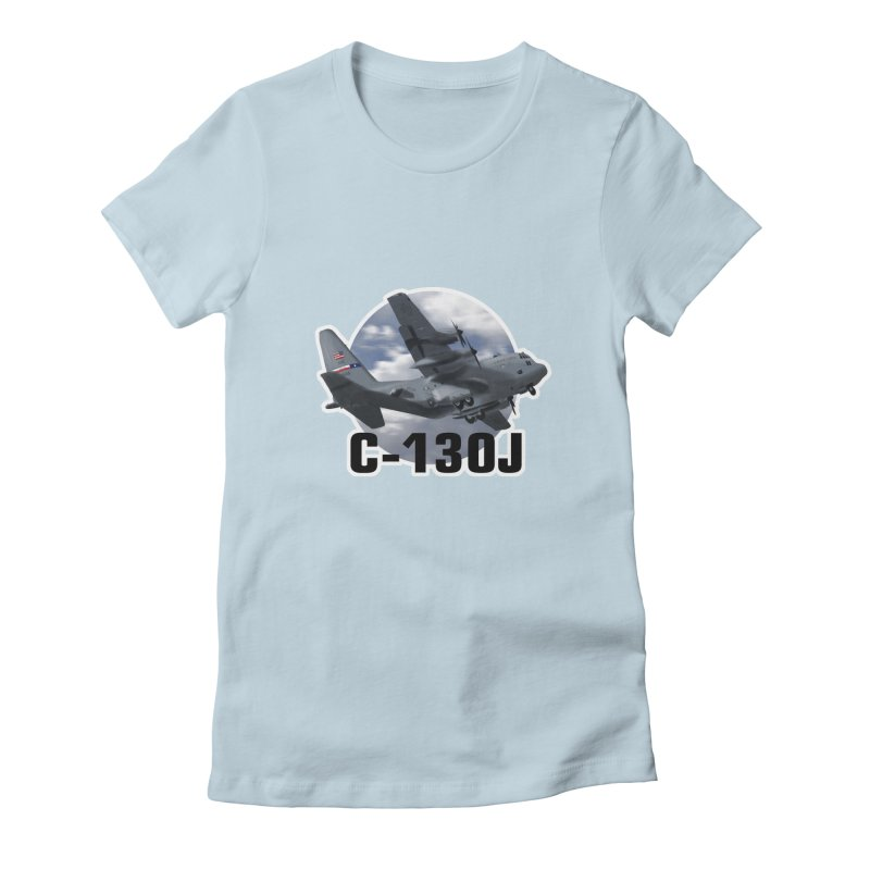 C130 Women's Fitted T-Shirt by goofyink's Artist Shop
