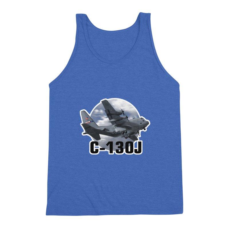 C130 Men's Triblend Tank by goofyink's Artist Shop