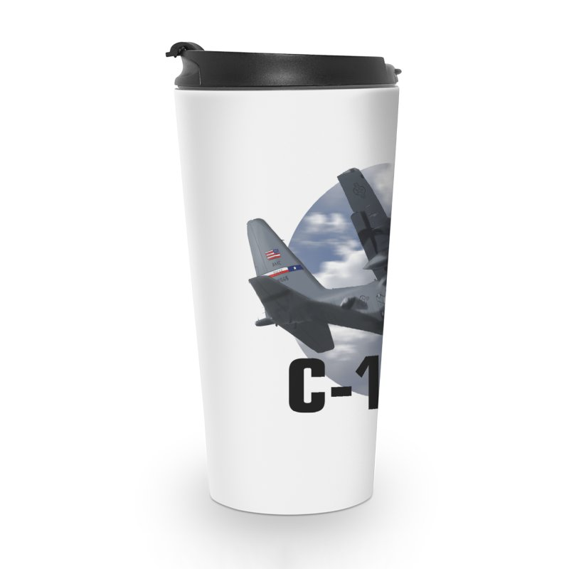 C130 Accessories Travel Mug by goofyink's Artist Shop