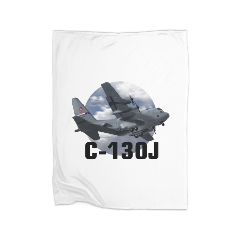 C130 Home Fleece Blanket Blanket by goofyink's Artist Shop