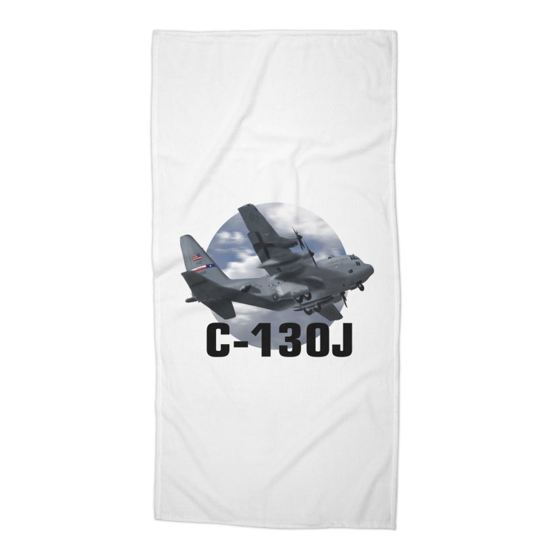 C130 Accessories Beach Towel by goofyink's Artist Shop