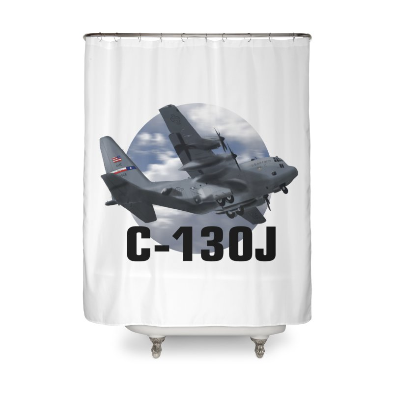 C130 Home Shower Curtain by goofyink's Artist Shop