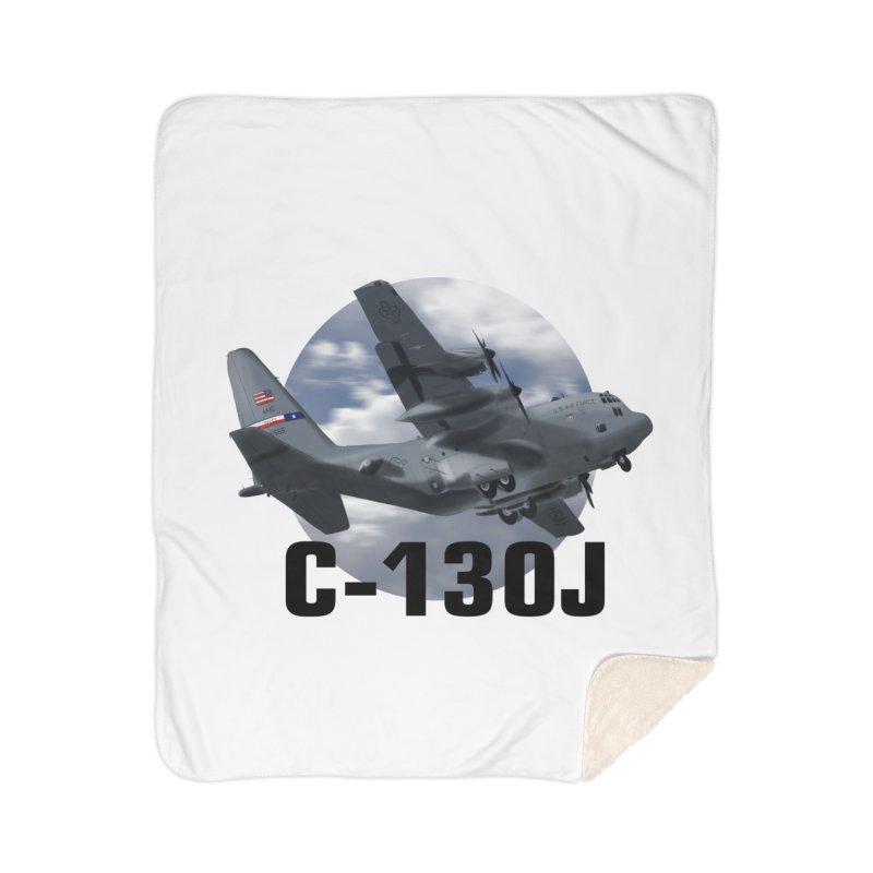 C130 Home Sherpa Blanket Blanket by goofyink's Artist Shop