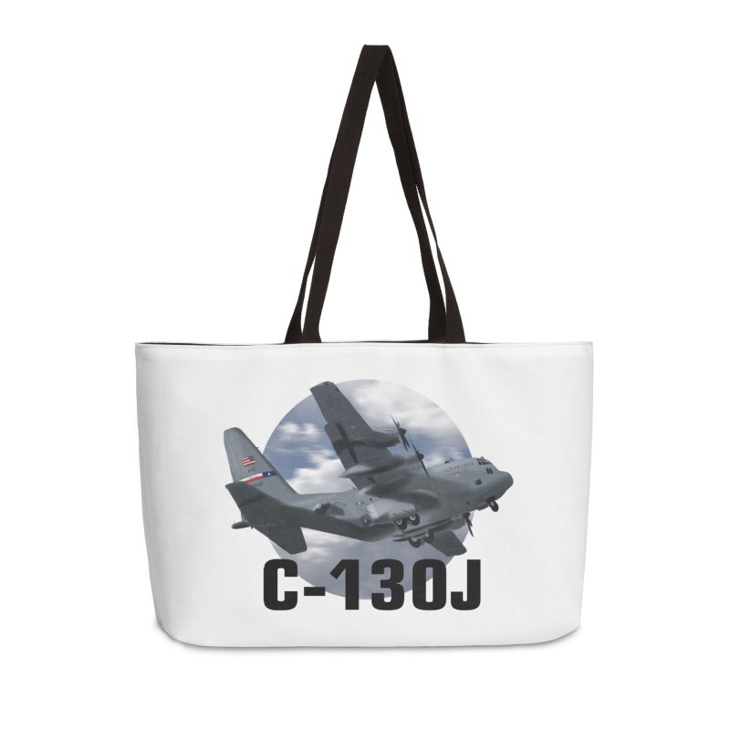C130 Accessories Weekender Bag Bag by goofyink's Artist Shop