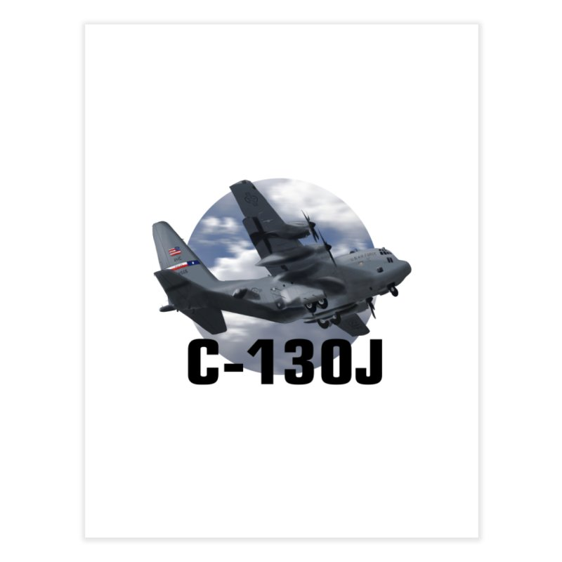 C130 Home Fine Art Print by goofyink's Artist Shop
