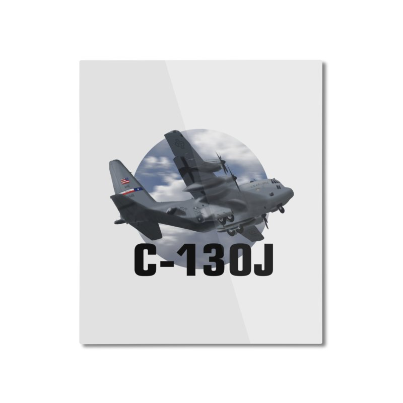 C130 Home Mounted Aluminum Print by goofyink's Artist Shop