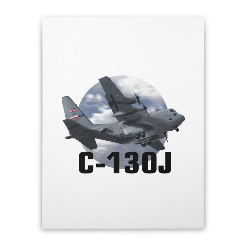 C130 Home Stretched Canvas by goofyink's Artist Shop
