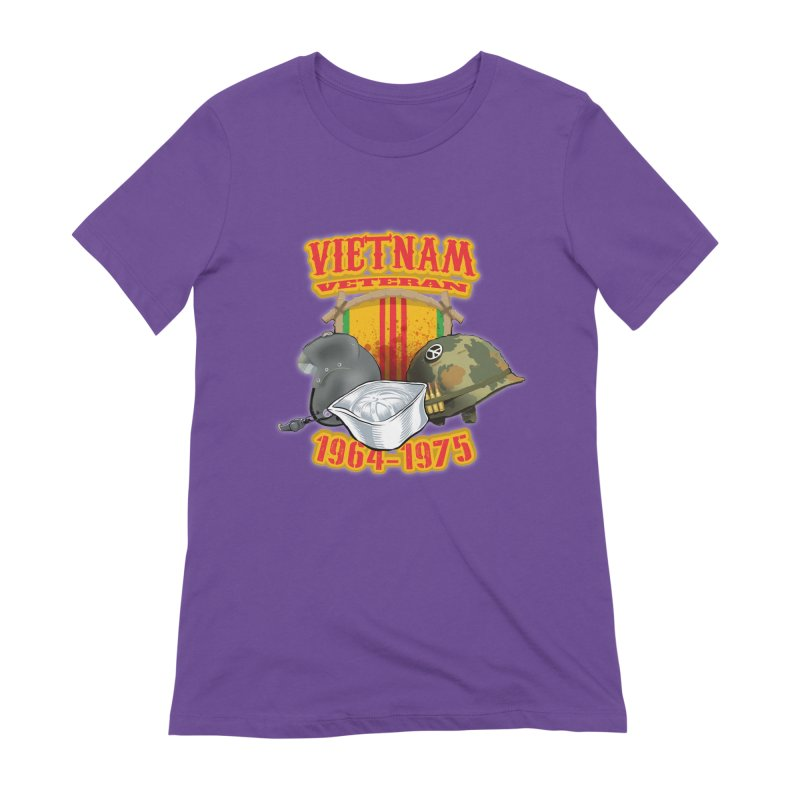 Veteran's Honor Women's Extra Soft T-Shirt by goofyink's Artist Shop