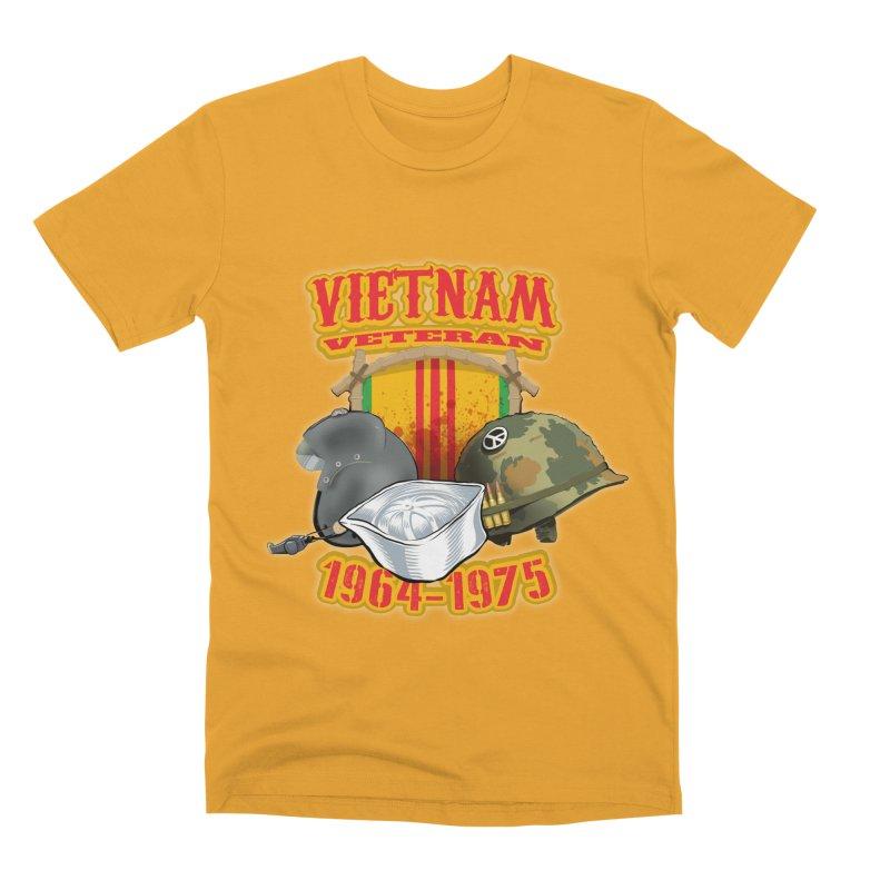 Veteran's Honor Men's Premium T-Shirt by goofyink's Artist Shop