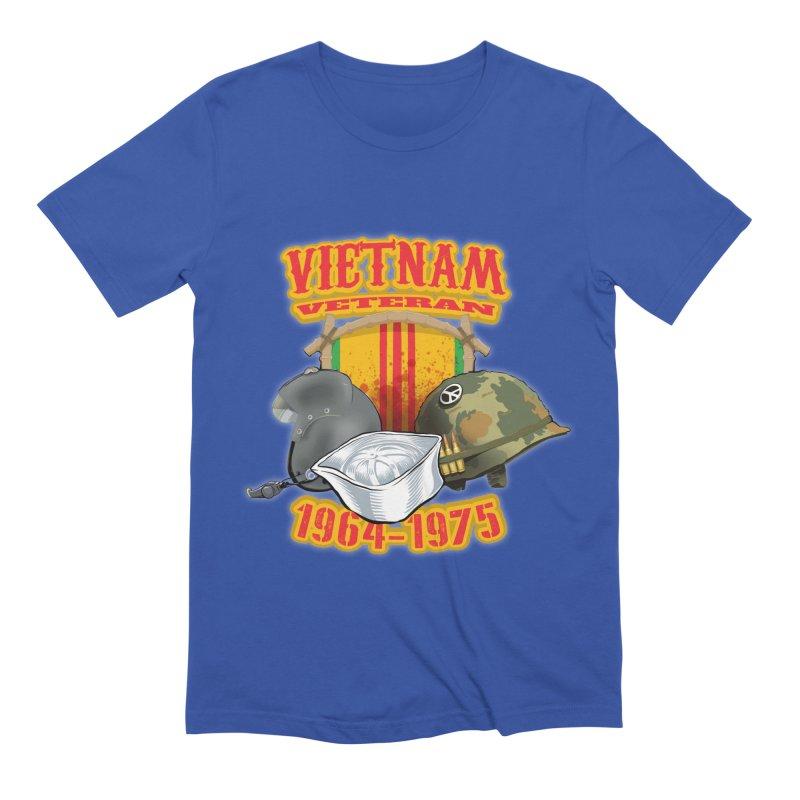 Veteran's Honor Men's Extra Soft T-Shirt by goofyink's Artist Shop