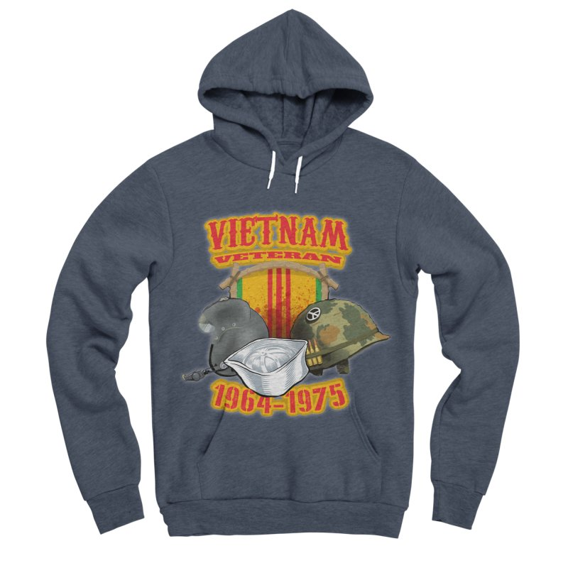 Veteran's Honor Men's Sponge Fleece Pullover Hoody by goofyink's Artist Shop
